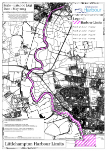Littlehampton Harbour Limits from 2015 HRO